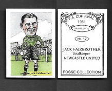 Newcastle United Jack Fairbrother 12 (FC)